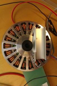 Brushless mootor IMU-ga
